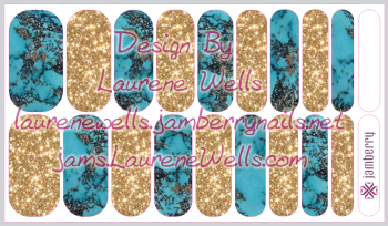 Custom_Wrap_Preview_Gems_Turquoise_and_Gold