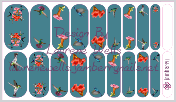 Custom_Wrap_Preview_Hummingbirds_flowers_teal_mixed